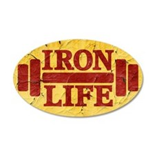 Iron Life Wall Decal