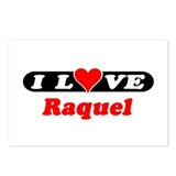 I Love Raquel Postcards (Package of 8)