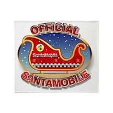 SantaMobile Throw Blanket