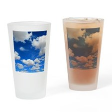 Cloudy Sky Drinking Glass