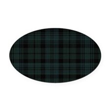 Cameron Ancient Celtic Tartan Oval Car Magnet