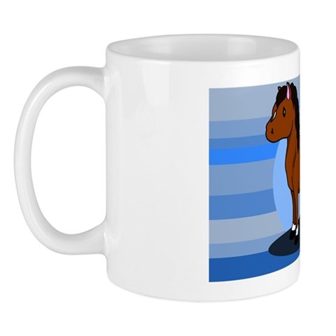 Brown Pony Mug