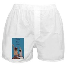 Follow Your Heart Horse Boxer Shorts