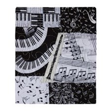 0562-clarinet Throw Blanket