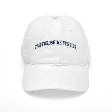 Staffordshire Terrier (blue) Baseball Cap