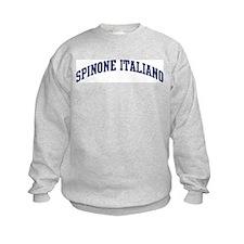 Spinone Italiano (blue) Sweatshirt