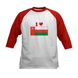 I love Oman Flag Tee