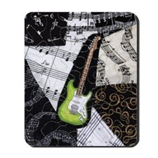 green-strat-kindle Mousepad