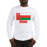 Oman Flag Long Sleeve T-Shirt