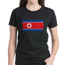 North Korea Flag T Shirts Tee