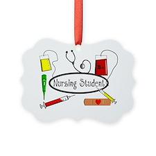 Nursing STudent Pillow Ornament