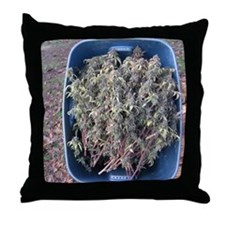 Cherry Cough Harvest Throw Pillow