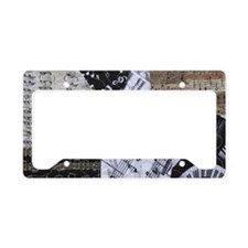 0375-clutch-trumpet License Plate Holder
