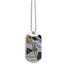 0375-incredible-trumpet Dog Tags
