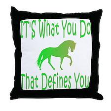 GH Defines Throw Pillow