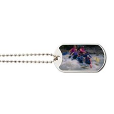 Whitewater rafting Dog Tags