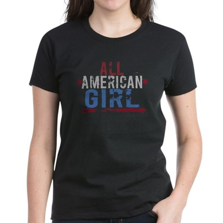 All American Girl Women's Dark T-Shirt