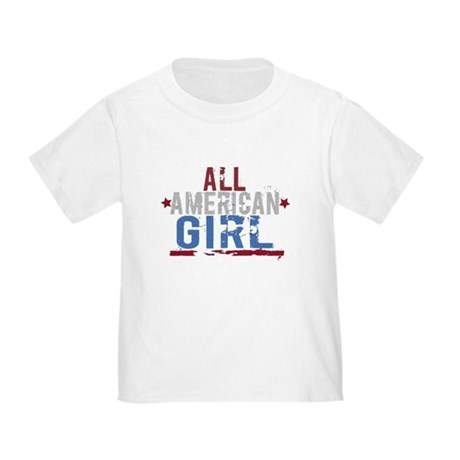All American Girl Toddler T-Shirt