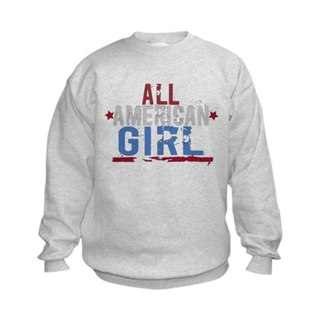 All American Girl Kids Sweatshirt