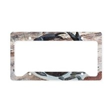 Chaceon fossil crab License Plate Holder