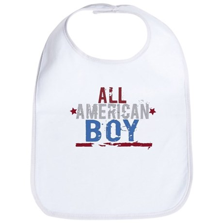 All American Boy Bib