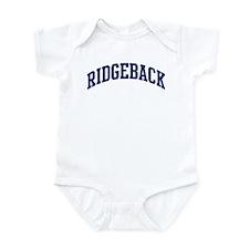 Ridgeback (blue) Onesie