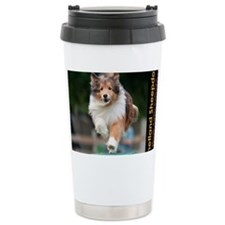 Shetland Sheepdog Agili Travel Mug