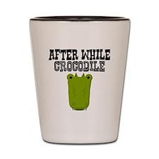 After While Crocodile Shot Glass
