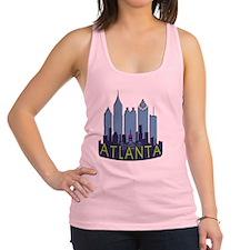 Atlanta Skyline Newwave Cool Racerback Tank Top