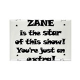 Zane is the Star Rectangle Magnet