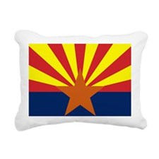 Arizona State Flag Rectangular Canvas Pillow
