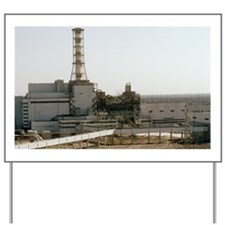 Chernobyl nuclear power station Yard Sign