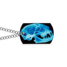 Cat skull X-ray Dog Tags