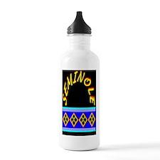 SEMINOLE INDIAN PATCHW Water Bottle