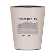 WashingtonDC_12x12_WhiteHouse_Black Shot Glass