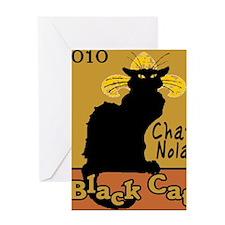 Chat Noir NOLA Greeting Card