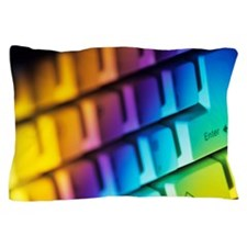 Computer keyboard Pillow Case