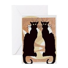 Chat Noir Greeting Card