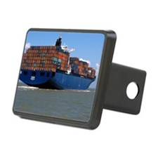 Container ship at sea Hitch Cover