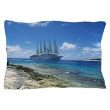 Cruise ship Pillow Case