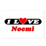 I Love Noemi Postcards (Package of 8)
