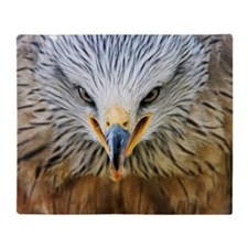 Common buzzard Throw Blanket