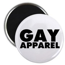 "Gay Apparel 2.25"" Magnet (100 pack)"