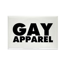 Gay Apparel Rectangle Magnet