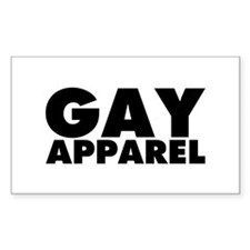 Gay Apparel Decal