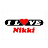 I Love Nikki Postcards (Package of 8)