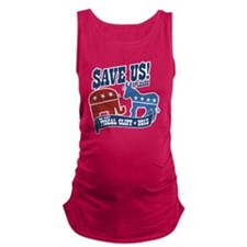 The Great Fiscal Cliff Maternity Tank Top