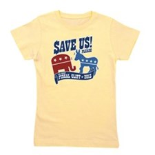 The Great Fiscal Cliff Girl's Tee