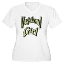 Vagabond Girl Log T-Shirt
