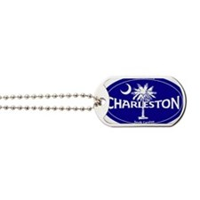 Charleston South Carolina Clear Dog Tags